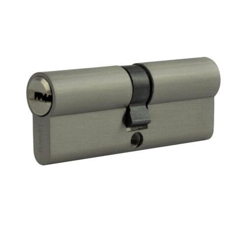 2x Profilzylinder 80mm 40//40 10x Schlüssel Tür Zylinder Schloss gleichschließend
