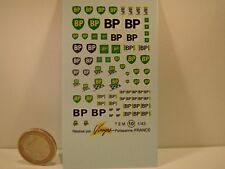 "DECALS 1/43 PETROLIER "" BP "" - VIRAGES T10"