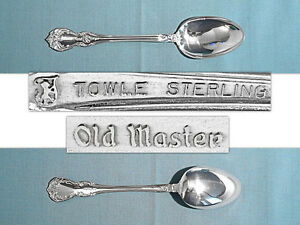 S OLD MIRROR *NEW* TOWLE STERLING OVAL SOUP // PLACE SPOON