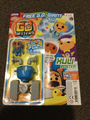 Go Jetters Magazine Issue 12 Foz+G.O Giant click on