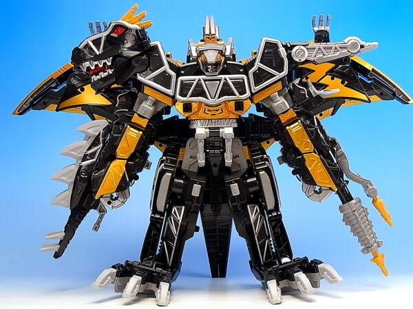 DX Raiden Kyoryujin Dark Version Megazord Power Rangers Juden Sentai Kyoryuger