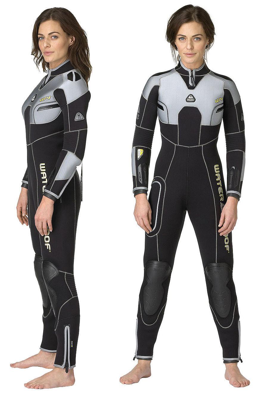 WATERPROOF W4 Ladies 7mm MICRO CELL Neoprene Scuba Diving Semi Dry Wetsuit -