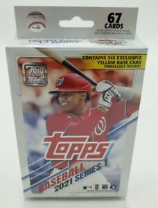 Topps Baseball 2021 Series 1 67-Card Box Walgreens Exclusive Brand New