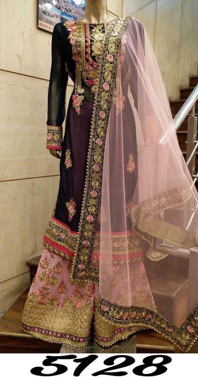 DESIGNER INDIAN ANARKALI SALWAR KAMEEZ PAKISTANI SUITS BOLLYWOOD DRESS L11