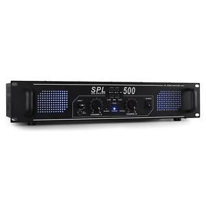 OCCASION-SKYTEC-AMPLI-500W-PA-SONO-HOME-CINEMA-STEREO-AUDIO-DJ-EQ-3-BANDES