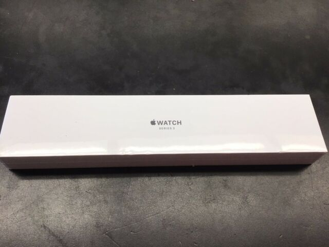 New & Sealed  Apple Watch Series 3 GPS Space Grey Aluminum Black Sport Band 38mm