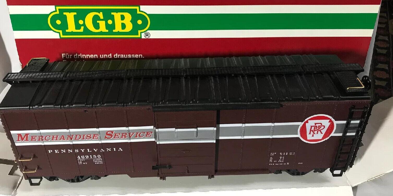 RARE LGB  46915  Pennsylvania Mercheise servizio scatolaauto  IN scatola & uomoica