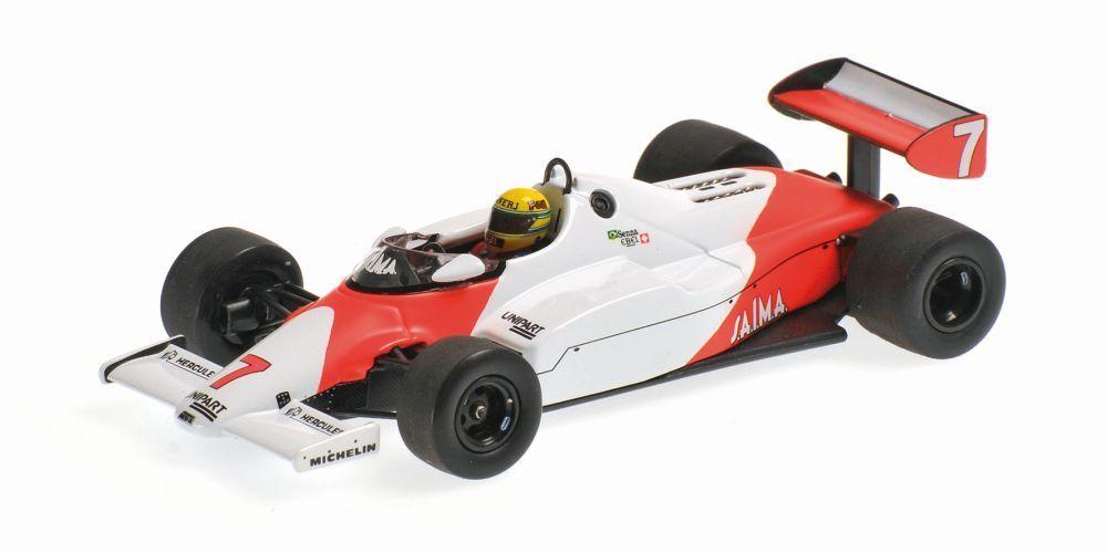 colores increíbles Minichamps 547 831807 McLaren MP4 1C coche Aytron Aytron Aytron Senna test platastone 1983 1 18  comprar ahora