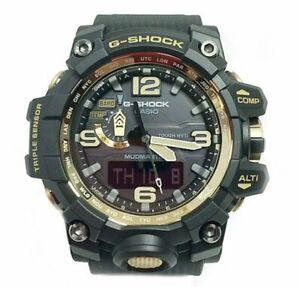CASIO-G-Shock-GWG1000GB-1A-MudMaster-MultiBand-6-Solar-Triple-Sensor-Gold