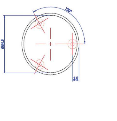 1-7 Pairs Chrome Door Knobs Mortice Door Knob Internal DOOR HANDLE Multi Sets