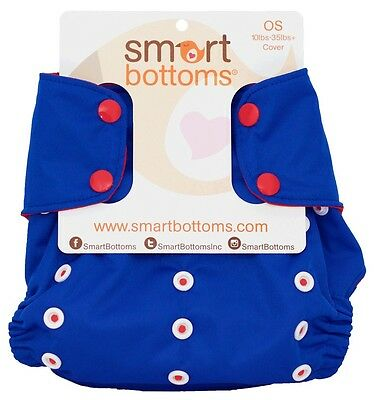 TOO SMART COVER BY SMART BOTTOMS MIAMI CLOTH DIAPER COVER
