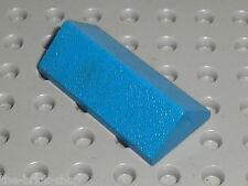 LEGO Blue Slope Brick Double ref 3041 / set 6370 322 318 6090 311 326 ...