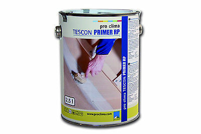 Dampfsperren Baustoffe & Holz Pro Clima Tescon Primer Rp 2,5 L Volumen Groß