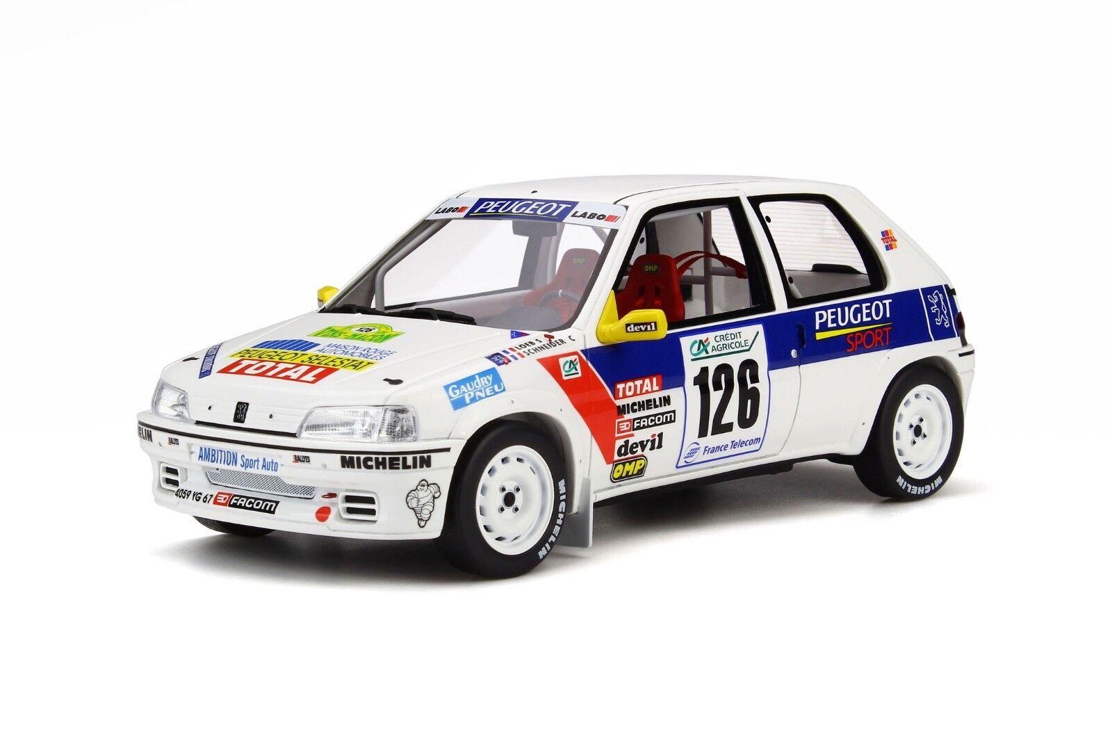 Otto 1 18 Peugeot 106 RALLYE Gr. n OT282