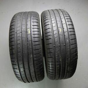 2x-Pirelli-P-Zero-MO-225-40-r19-93-W-Dot-2618-7-mm-pneus-d-039-ete