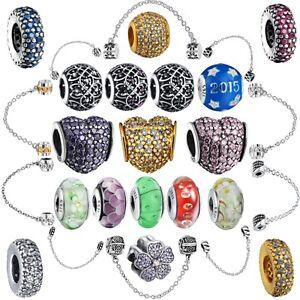 2018-New-Handmade-marque-Fashion-European-Silver-perle-pour-A-faire-soi-meme-Bracelet-925-breloques