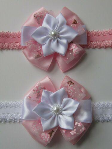 Baby Girl Headband Hairband Bow Cheveux Fleur Accessoires Mariage Baptême