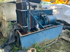30kw Empire Diesel Generator Set Open On Tank Tested Amp Working