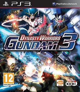 Dynasty-WARRIORS-GUNDAM-3-PS3-OTTIME-Super-Fast-amp-Consegna-Rapida-Gratis