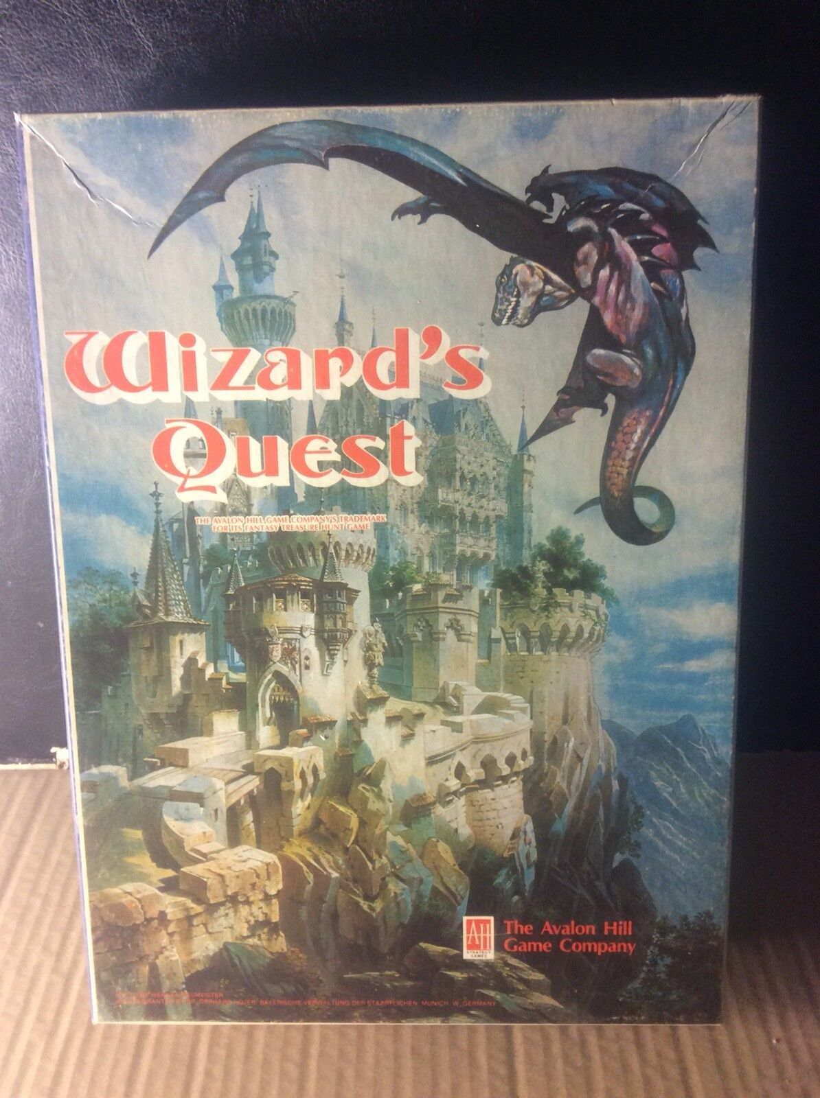 1979 Avalon Hill Game Company Wizards Quest Board Game