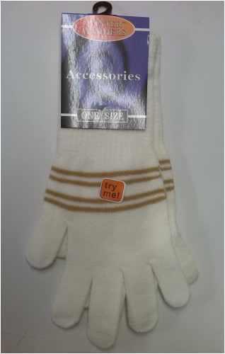 Womens gloves winter long cuff glove