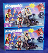 2 New DRAGON ATTACK CANNON - PLAYMOBIL 3320 KNIGHTS Firing Cannons CASTLE