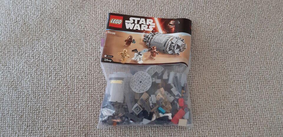 Lego Star Wars, 75136, 75137