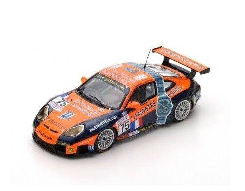 Porsche 996 GT3 RS RS RS  75 Perrier-Neugarten  Le Mans  2001 (Spark 1 43   S4761) c3299e