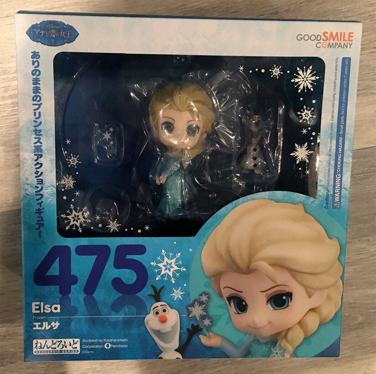 Nendoroid  475 Frozen Elsa Figure New Unopened