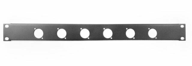 Black External Width 483mm Material RACK PANEL 6 D TYPE Colour Steel 1U
