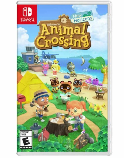 Animal Crossing New Horizons -- Standard Edition (Nintendo Switch, 2020) New