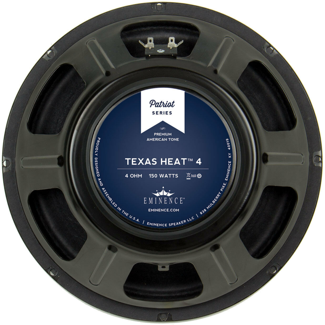 Eminence Patriot Texas Heat 12  Guitar Speaker 4 Ohm