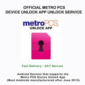 Metro pcs Alcatel 7 A30 Fierce dispositivo App oficial