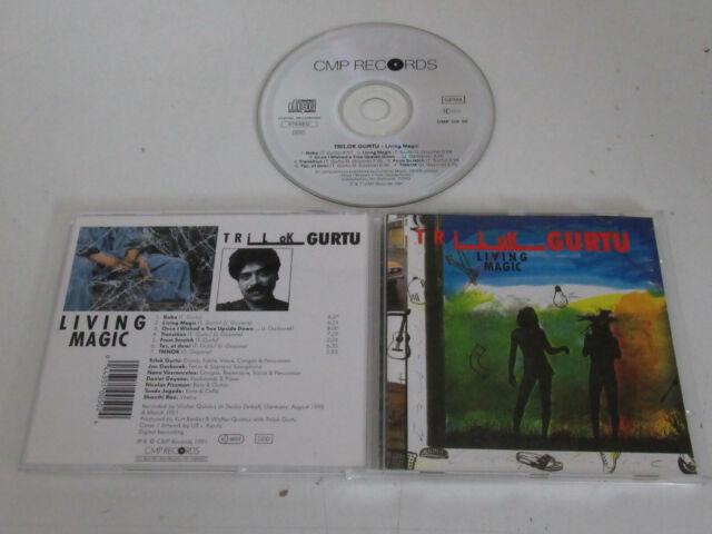 Trilok Gurtu – Living Magic / CMP Records – CMP CD 50 CD Album