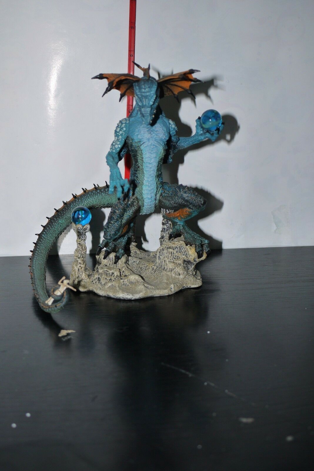 2006 McFarlane Dragons Fall of the Dragon Kingdom Sorcerer Clan Dragon FIGURE