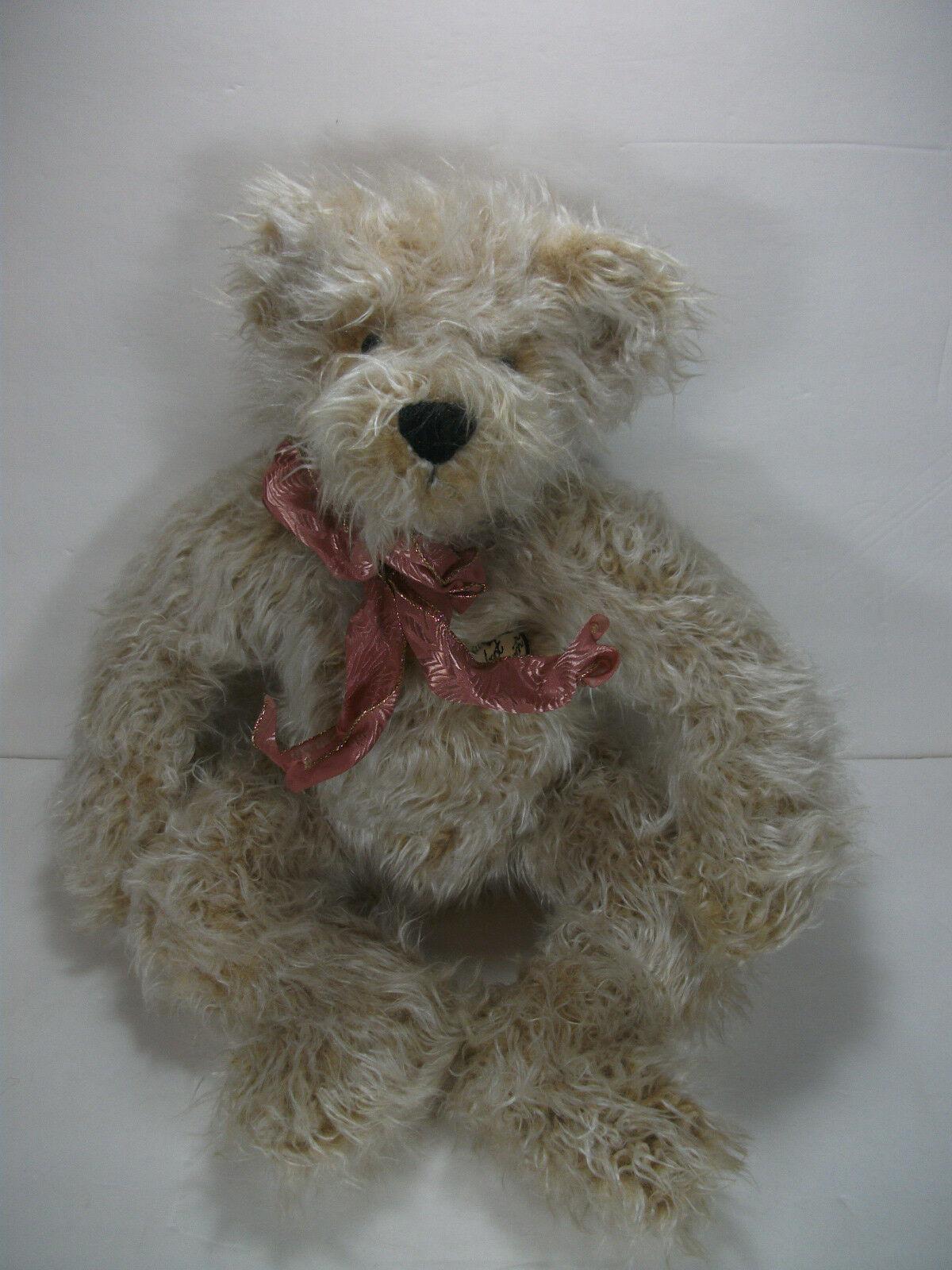 Ashton Drake Bear I'm a Perfect Companion Limited Ed. Very HTF Great Gift  B2 1