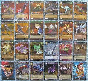 Dinosaur-King-TCG-Choose-1-Dinotector-Showdown-Gold-or-Colossal-Rare-Foil-Card