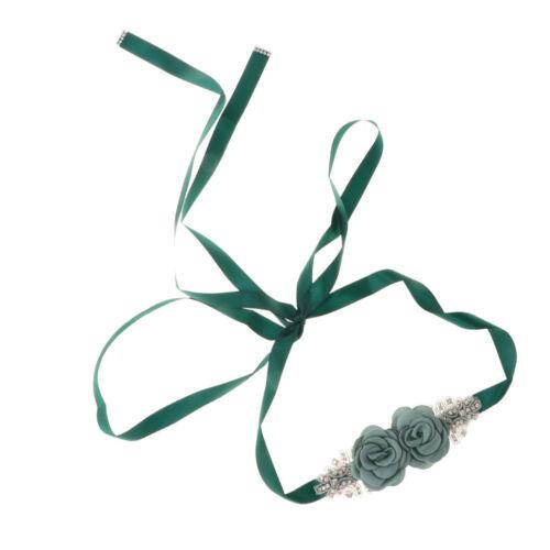 Glitzer Brautgürtel Schärpe Abendkleid Gürtel Damengürtel mit Strass