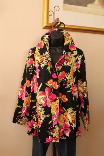 Kvinder Usa 6177 Swing Dressy Made S Jacket Coat M Boquet L Sisters 3 Aline S7xY78