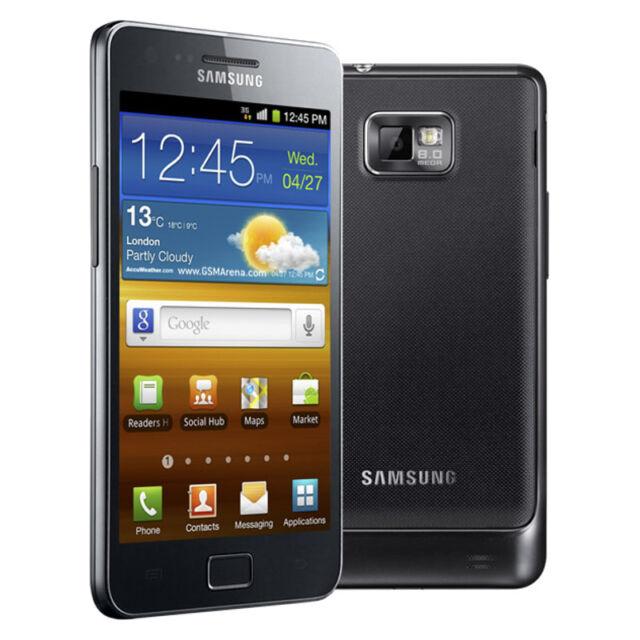 Samsung  Galaxy S II GT-I9100 - 16GB - Noble Black (Ohne Simlock) Smartphone