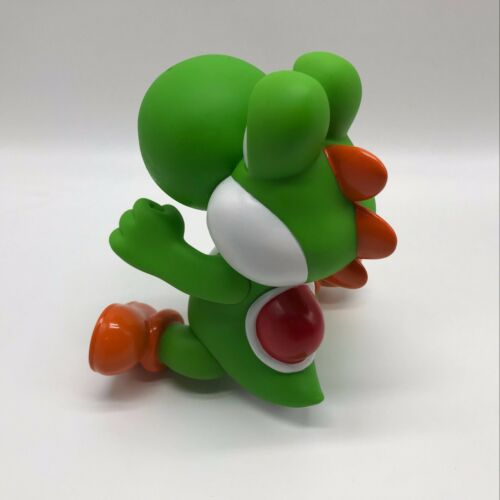 New Super Mario Bros Green Yoshi Doll PVC Plastic Action Figure Toy 9.5/""