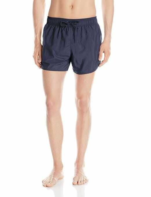 EMPORIO ARMANI EAGLE EMBROIDERY SWIM SHORT. MARINE blueE, LARGE or EXTRA XL, NEW