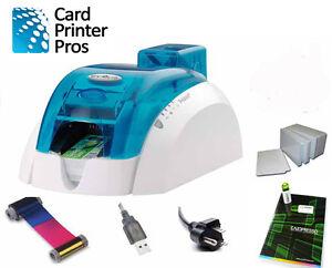 Evolis Pebble 4 Id Card Printer 60 Day Warranty