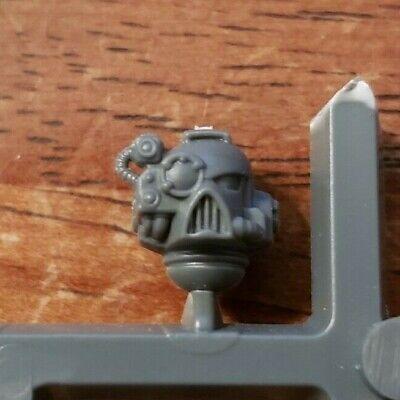 *BITS* 5x Space Marine Devastator Squad Head D