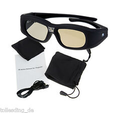 3D active DLP-Link glasses For Optama, Acer, BenQ, NEC, ViewSonic, Sharp Dell