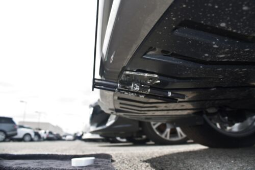 Removable Sto N Sho License Plate Bracket for 2016-2017 Jaguar XF Non Sport XE