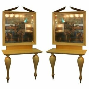 1900-1950 Pair Of Console's Designed By Carlo Enrico Rava Antiques