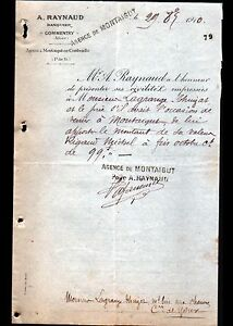 MONTAIGUT-amp-COMMENTRY-03-BANQUE-034-A-RAYNAUD-Banquier-034-en-1910