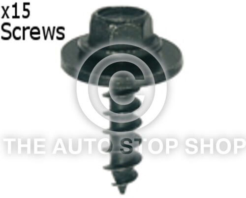 Screw Mild Material Threads 5 x 19MM Washer 15MM Renault Kangoo etc 11564re 15PK