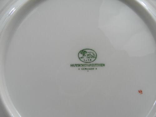 Hutschenreuther Linderhof Frühstücksteller Kuchenteller ca.19,5cm Ø neuwertig